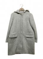 BEAUTY&YOUTH(ビューティアンドユース)の古着「フーデッドコート」|グレー