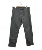 THE NORTHFACE PURPLELABEL(ザノースフェイス パープルレーベル)の古着「Polyester Serge Field Pants」|グレー