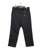 THE NORTHFACE PURPLELABEL(ザノースフェイス パープルレーベル)の古着「Polyester Serge Field Pants」|ネイビー