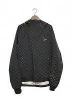 GYAKUSOU(ギャクソウ)の古着「フーデッドジャケット」 ブラック