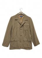 POLO RALPH LAUREN(ポロ・ラルフローレン)の古着「3Bジャケット」|ブラウン