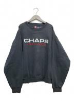 CHAPS RALPH LAUREN(チャップス ラルフローレン)の古着「ロゴスウェット」|グレー