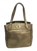 ()の古着「2WAYバッグ」|ゴールド