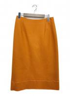 MaxMara(マックスマーラ)の古着「タイトスカート」|ブラウン