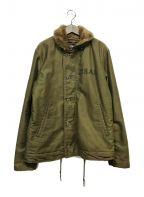 ALPHA()の古着「N-2Bジャケット」|オリーブ