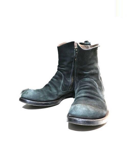 MR.OLIVE MR.OLIVE (ミスターオリーブ) サイドジップブーツ ブラック サイズ:SIZE 9 1/2 定価¥49.000