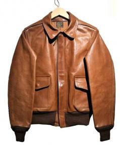 Buzz Ricksons(バズリクソンズ)の古着「A-2ジャケット」|ブラウン
