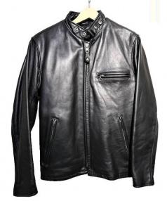 Schott(ショット)の古着「ボアライナー付シングルライダースジャケット」|ブラック