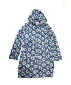 seasalt(シーソルト)の古着「花柄コート」|ブルー