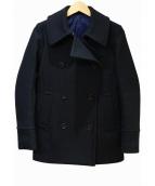 Drawer(ドロワー(ドゥロワー))の古着「ハーフコート」|ブラック