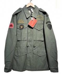 DEUS EX MACHINA(デウスエクスマキナ)の古着「LAND M65 JACKET」 カーキ