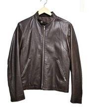 BEAUTY&YOUTH(ビューティアンドユース)の古着「ラムレザージャケット」|ブラウン