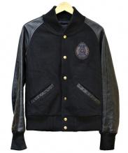 DRESS CAMP(ドレスキャンプ)の古着「ワッペンスタジャン」|ブラック