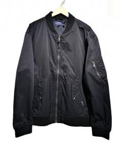 POLO RALPH LAUREN(ポロ ラルフローレン)の古着「MA-1ジャケット」 ブラック