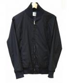 AKM(エーケーエム)の古着「ジップブルゾン」|ブラック