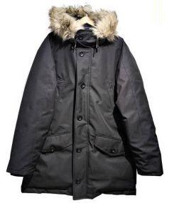 POLO RALPH LAUREN(ポロ ラルフローレン)の古着「ダウンコート」|ブラック
