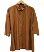 DRESSLAVE(ドレスレイブ)の古着「半袖シャツ」|ブラウン