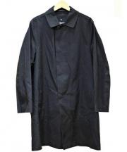 MACKINTOSH(マッキントッシュ)の古着「ウールライナー付ゴム引きコート」 ブラック