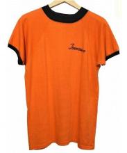 Champion(チャンピオン)の古着「ヴィンテージトリムTシャツ」 オレンジ