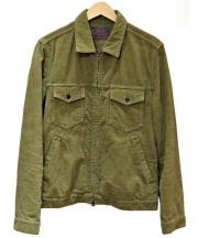 R.H.Vintage(ロンハーマン・ヴィンテージ)の古着「コーデュロイジャケット」 グリーン
