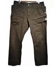SASSAFRAS(ササフラス)の古着「FALL LEAF SPRAYER PANTS」|カーキ