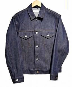 BEAUTY&YOUTH(ビューティー&ユース)の古着「セルビッチデニムジャケット」|インディゴ