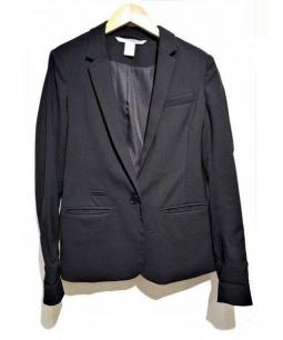 DIANE VON FURSTENBERG(ダイアンフォンファステンバーグ)の古着「テーラードジャケット」 ブラック