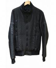 DOLCE & GABBANA(ドルチェ&ガッバーナ)の古着「中綿ブルゾン」|ブラック