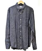 Cushman(クッシュマン)の古着「シャンブレーシャツ」|ネイビー