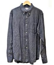 Cushman(クッシュマン)の古着「シャンブレーシャツ」 ネイビー