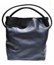 CAMPER(カンペール)の古着「レザー2WAYバッグ」|ネイビー