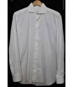 E formicola(エリコ.フォルミコラ)の古着「ドレスシャツ」|ホワイト