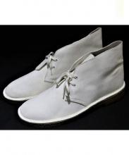 CLARKS(クラークス)の古着「デザートブーツ」 ホワイト
