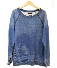 BLUE BLUE(ブルーブルー)の古着「INDIGO DYE スウェット」|インディゴ