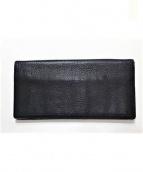 PORTER(ポーター)の古着「レザー長財布」|ホワイト×ブラック