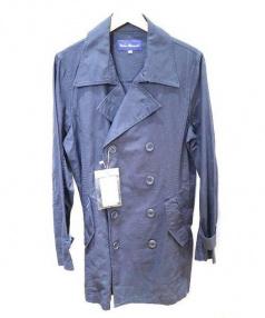 URBAN RESEARCH(アーバンリサーチ)の古着「綿麻トレンチコート」 ネイビー
