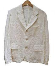 The Stylist Japan(ザスタイリストジャパン)の古着「パイルテーラードジャケット」|ホワイト