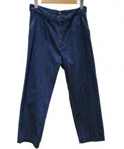 Brilla per il gusto(ブリッラ ペル イル グスト)の古着「1プリーツデニムパンツ」