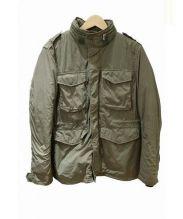 BEAMS PLUS(ビームスプラス)の古着「インナーダウン付3way M-65ジャケット」|カーキ