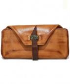 syuro(シュロ)の古着「ゴート革長財布」|ブラウン