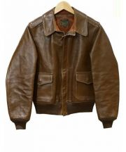 THE FEW(ザ・フュー)の古着「A-2ジャケット」|ブラウン