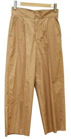 MACPHEE(マカフィー)の古着「コットンギャバジンセミワイドパンツ」