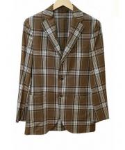BEAMS(ビームス)の古着「テーラードジャケット」 ブラウン
