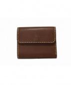 BUTTERO(ブッテロ)の古着「3つ折り財布」|ブラウン