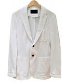 ESTNATION(エストネーション)の古着「カットソージャケット」|ホワイト