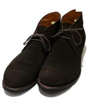 和創良靴(ワソウリョウカ)の古着「スエードチャッカーブーツ」|ブラウン