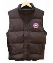 CANADA GOOSE(カナダグース)の古着「Garson Vest」 ブラウン