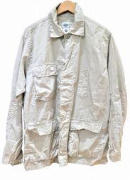 POST OALLS(ポストオーバーオールズ)の古着「シャツカバーオール」