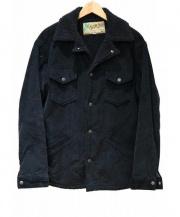 SUGAR CANE(シュガーケーン)の古着「コーデュロイランチジャケット」|ブラック