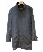 FRED PERRY(フレッドペリー)の古着「リバーシブルハリトンマックコート」|グレー